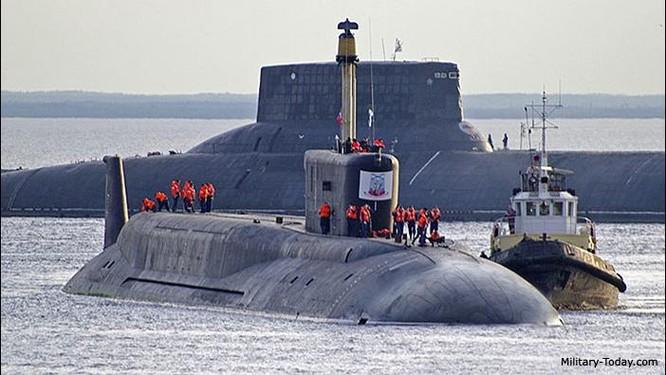Tàu ngầm hạt nhân chiến lược lớp Borey Nga (ảnh tư liệu)