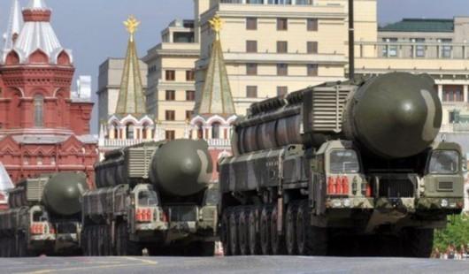 Tên lửa chiến lược Topol-M Nga (ảnh tư liệu minh họa)