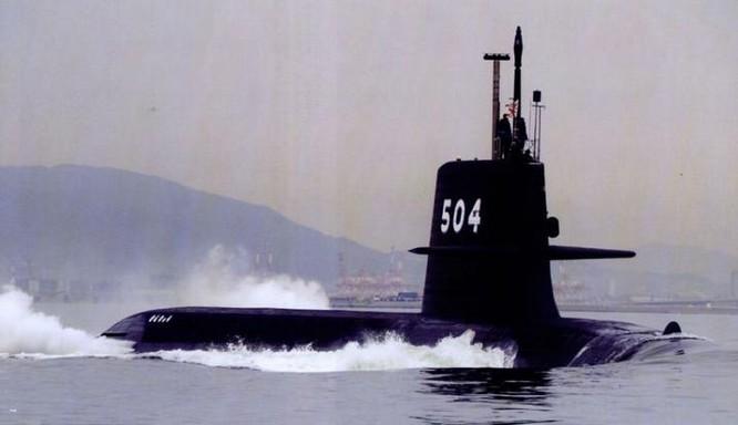 Tàu ngầm thông thường AIP Kenryu lớp Soryu Nhật Bản (ảnh tư liệu)