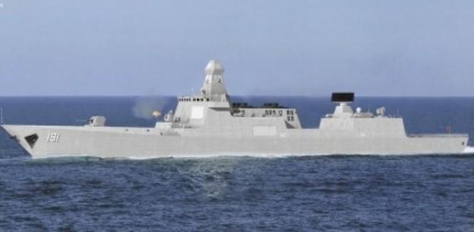 Ý tưởng về tàu khu trục Type 055 tương lai của Trung Quốc. Ảnh: Sina