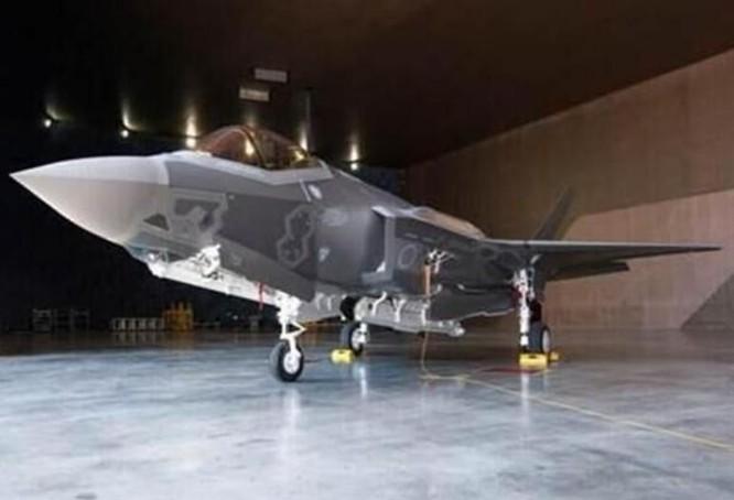 Hình ảnh máy bay chiến đấu tàng hình F-35 Nhật Bản đặt mua và đã chế tạo xong do Lực lượng Phòng vệ Trên không Nhật Bản công bố. Ảnh: Tin tức Tham khảo, Trung Quốc.