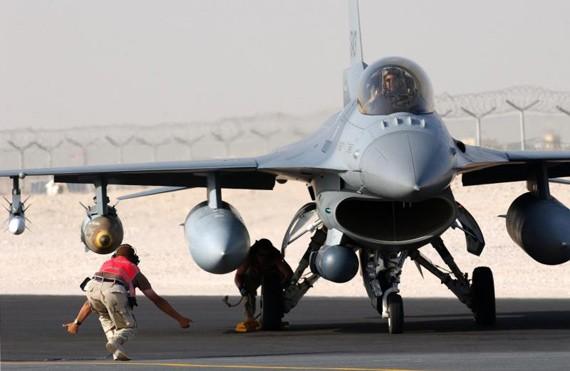 Máy bay chiến đấu F-16C Block 52 của Quân đội Mỹ (ảnh tư liệu minh họa)