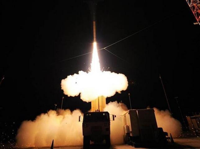 Trung Quốc thử nghiệm tên lửa HQ-19. Ảnh: Tân Hoa xã/Chinatimes
