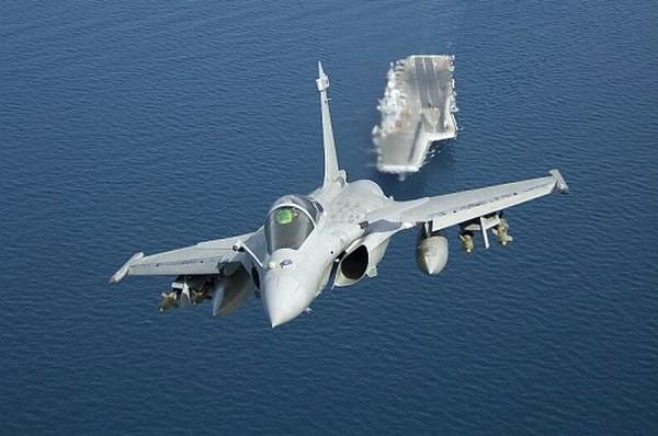 Máy bahy chiến đấu Rafale-M của Hải quân Pháp (ảnh tư liệu)