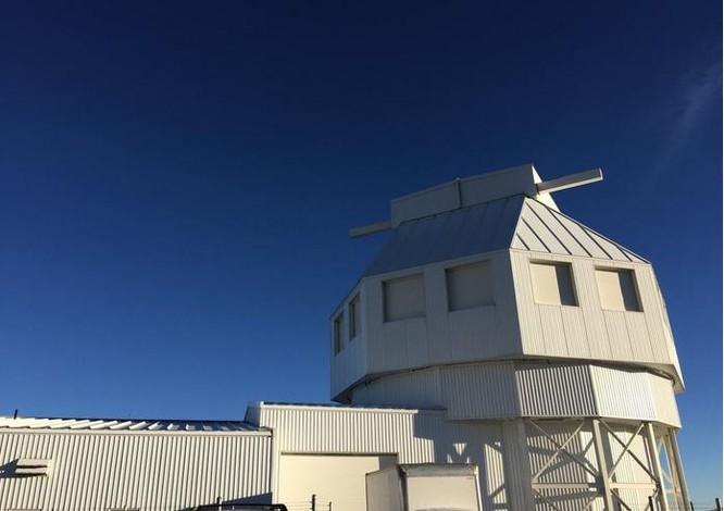Tổ hợp kính viễn vọng theo dõi vũ trụ Mỹ. Ảnh: Popular Science