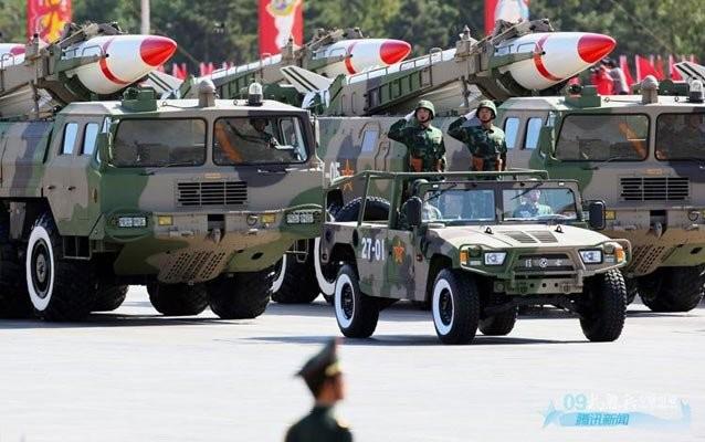 Tên lửa đạn đạo chiến thuật Đông Phong-11 Trung Quốc (ảnh tư liệu)