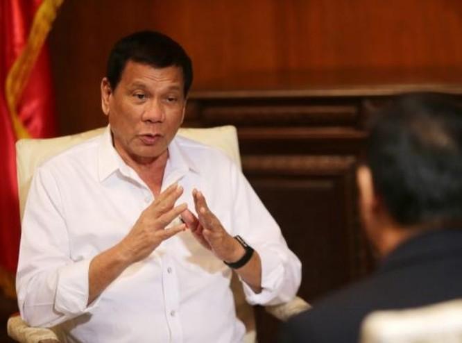 Tổng thống Philippines Rodrigo Duterte muốn