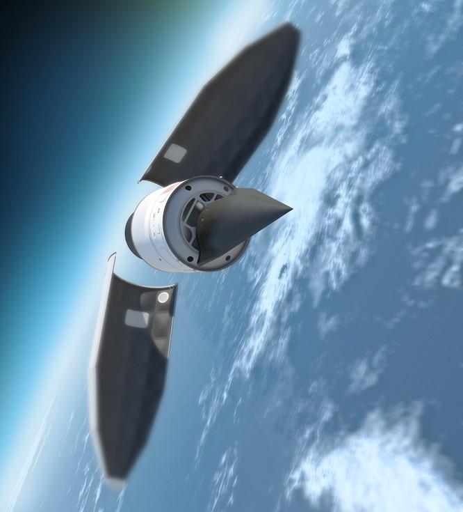 Vũ khí siêu thanh Falcon HTV-2 Mỹ (ảnh tư liệu minh họa)