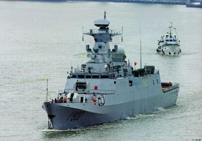 Tàu hộ vệ C28A Trung Quốc dùng để xuất khẩu. Ảnh: Cankao