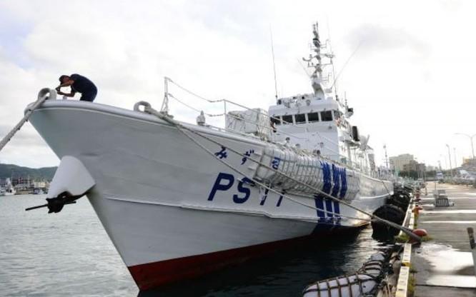 Tàu tuần tra Lực lượng bảo vệ bờ biển Nhật Bản. Ảnh: Cankao