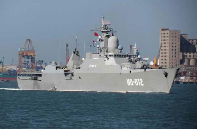 Tàu hộ vệ tàng hình Lý Thái Tổ HQ-012 của Hải quân Việt Nam (ảnh tư liệu)