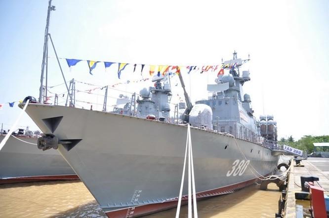 Tàu tên lửa lớp Molniya của Hải quân Việt Nam. Ảnh: Thời báo Hoàn Cầu