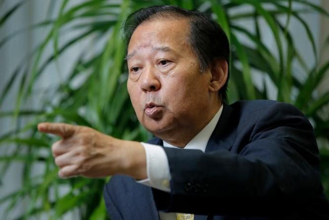 Tổng thư ký Đảng Tự do Dân chủ Nhật Bản, Toshihiro Nikai. Ảnh: The Japan Times