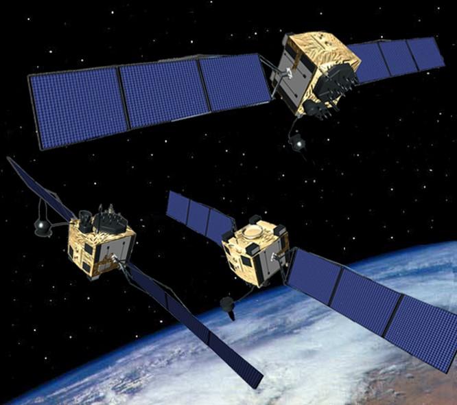 Hệ thống định vị toàn cầu GPS Mỹ (ảnh tư liệu)