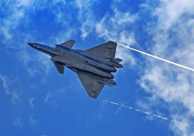 Máy bay chiến đấu J-20 Trung Quốc. Ảnh: Cankao