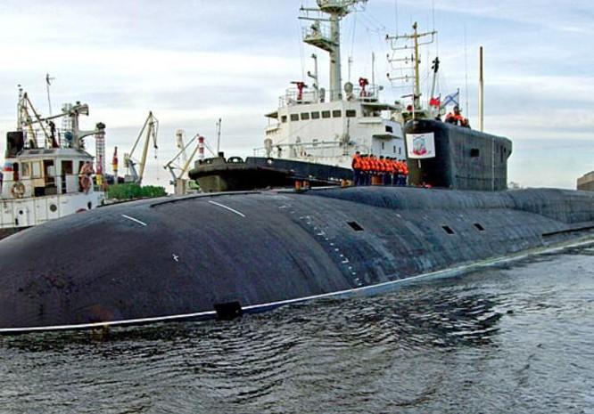 Tàu ngầm hạt nhân chiến lược lớp Borey Nga. Ảnh: Naval Today