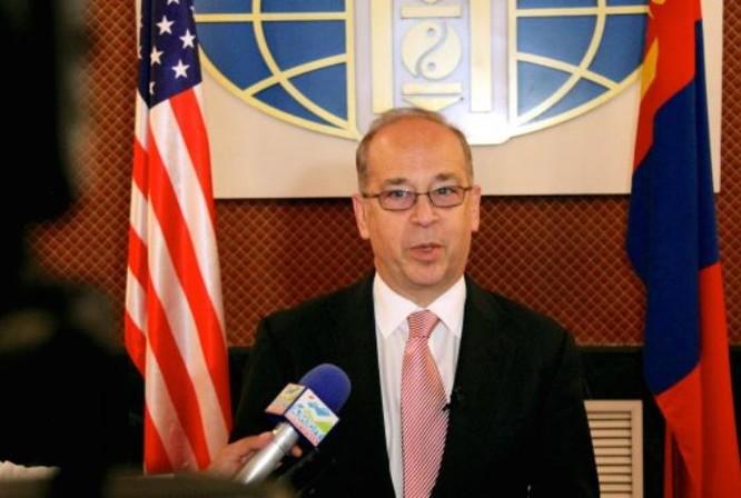 Trợ lý Ngoại trưởng Mỹ, Daniel Russel. Ảnh: NK News