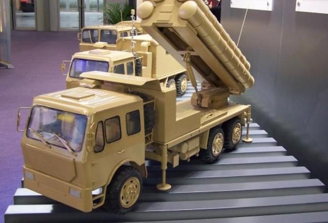 Hệ thống tên lửa đất đối không Sky Dragon Trung Quốc. Ảnh: DefenseWorld