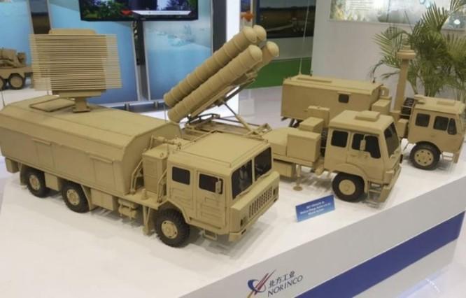 Hệ thống tên lửa đất đối không Sky Dragon Trung Quốc. Ảnh: Janes