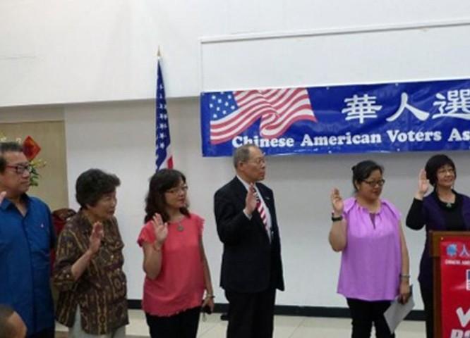 Cử tri người Hoa tại Mỹ (ảnh tư liệu)