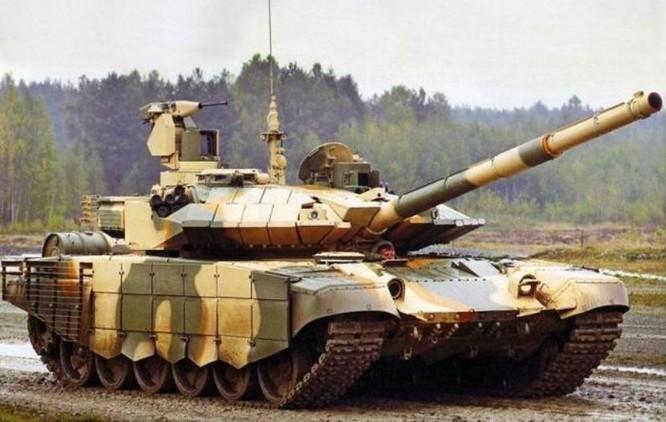 Xe tăng T-90MS là phiên bản cải tiến mới nhất của dòng T-90 Nga. Ảnh: QQ