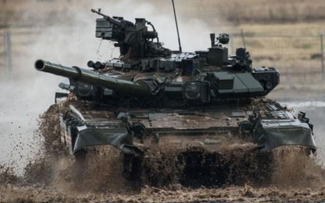 Xe tăng T-90MS là phiên bản xuất khẩu mới của T-90 Nga. Ảnh: Thời báo Hoàn Cầu