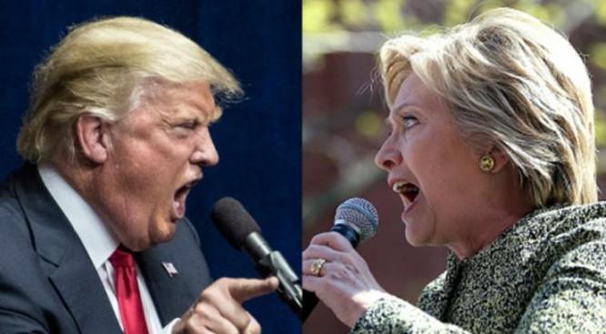 Ông Donald Trump và bà Hillary Clinton đã trải qua một cuộc đối đầu gay gắt trong tranh cử Tổng thống Mỹ năm 2016.
