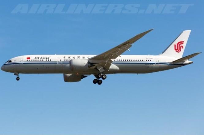 Máy bay chở khách Trung Quốc mua của hãng Boeing, Mỹ. Ảnh: Airliners