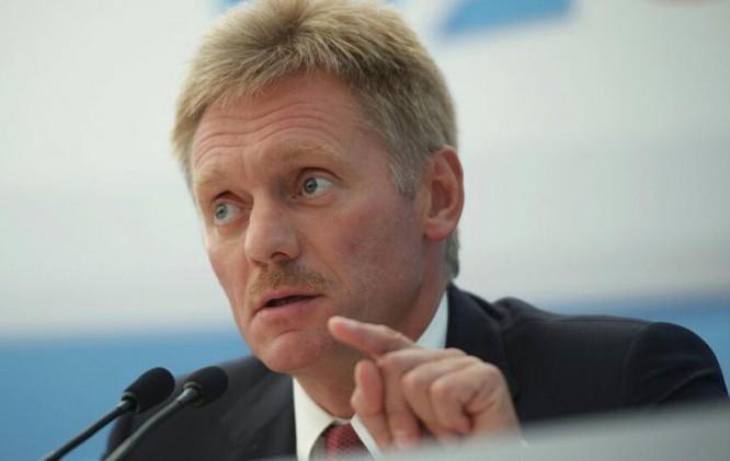 Dmitry Peskov, người phát ngôn Tổng thổng Nga. Ảnh: Thời báo Hoàn Cầu.