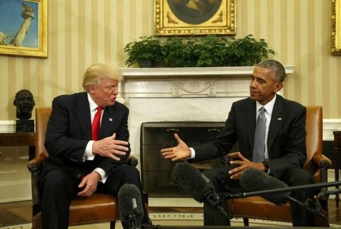 Ông Donald Trump đến Nhà Trắng gặp Barack Obama bàn việc chuyển giao quyền lực.