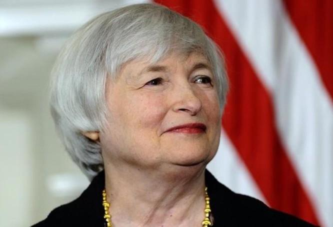 Bà Janet Yellen, Chủ tịch Cục Dự trữ Liên bang Mỹ (FED). Ảnh; Forbes