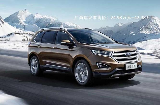 Ô tô Ford được rao bán trên thị trường Trung Quốc. Ảnh: ccn.com.cn