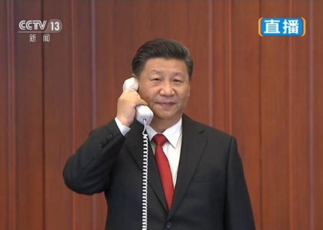 Chủ tịch Trung Quốc, Tập Cận Bình. Ảnh: CCTV