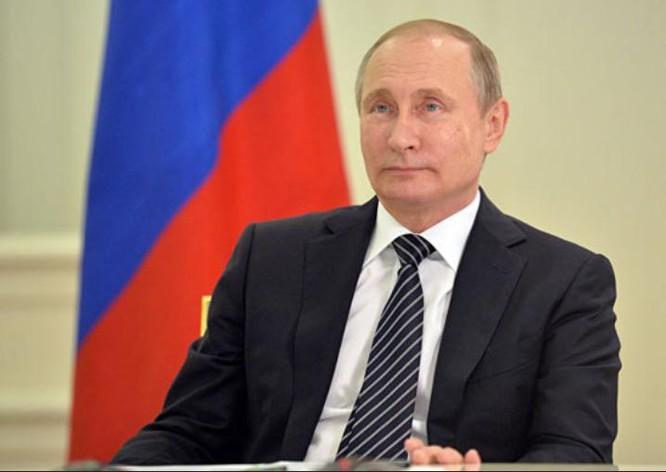 Tổng thống Nga Vladimir Putin. Ảnh: báo Phượng Hoàng