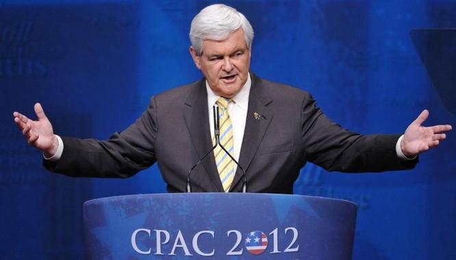 Mỹ sẽ thực thi chính sách gì đối với Trung Quốc? Trong hình là ông Newt Gingrich, ứng cử viên Ngoại trưởng Mỹ trong nội các Donald Trump tương lai. Ảnh: Sputnik