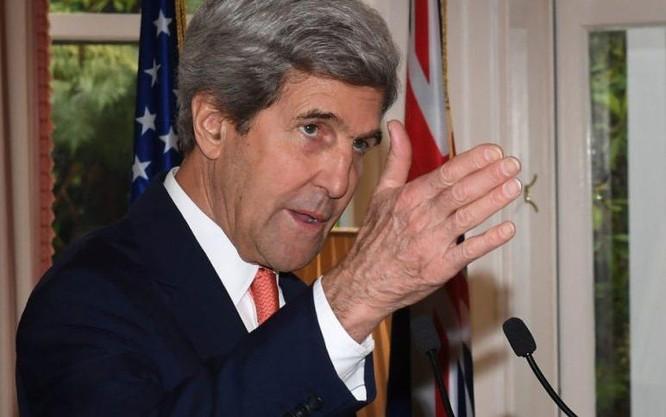 Ngoại trưởng Mỹ John Kerry. Ảnh: Daily Nigeria News