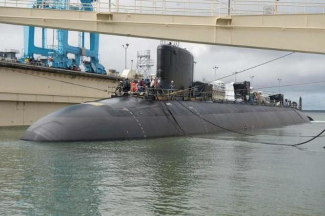 Tàu ngầm hạt nhân tấn công lớp Virginia Hải quân Mỹ (ảnh tư liệu)