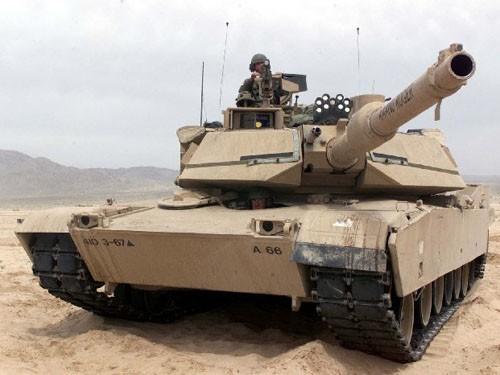 Xe tăng chiến đấu M1A2 Abrams Mỹ (ảnh tư liệu)