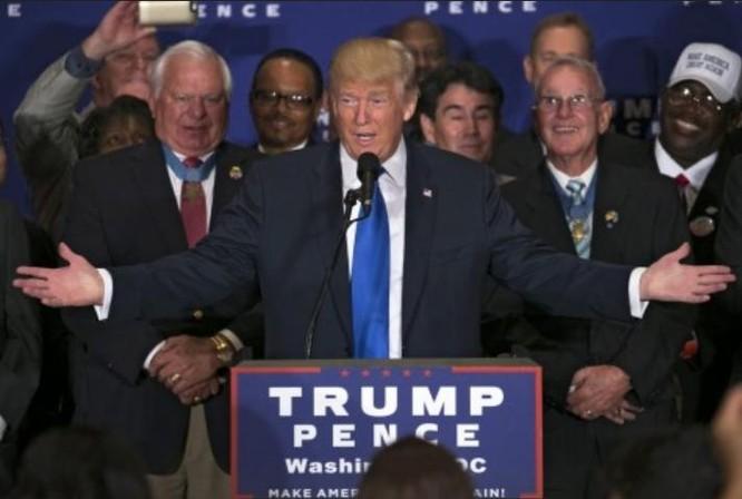 Tổng thống đắc cử Mỹ Donald Trump. Ảnh: Washington Post