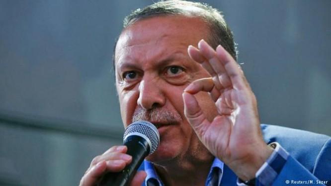 Tổng thống Thổ Nhĩ Kỳ Recep Tayyip Erdogan. Ảnh: DW