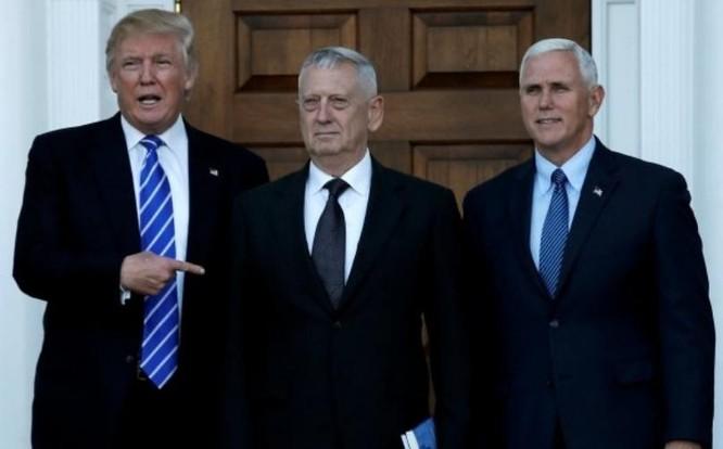 Tổng thống đắc cử Donald Trump cân nhắc lựa chọn ông James Mattis làm Bộ trưởng Quốc phòng Mỹ. Ảnh: DNA