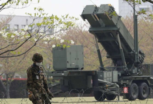 Hệ thống tên lửa phòng không Patriot-3 Nhật Bản (ảnh tư liệu)