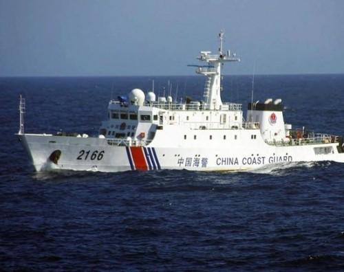 Tàu cảnh sát biển Trung Quốc (ảnh tư liêu)