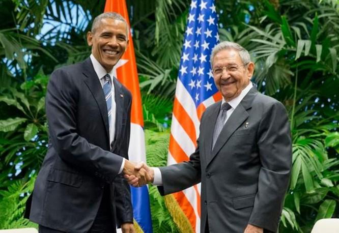 Tổng thống Mỹ Barack Obama thực hiện bình thường hóa quan hệ với Cuba. Ảnh: The Indian Express