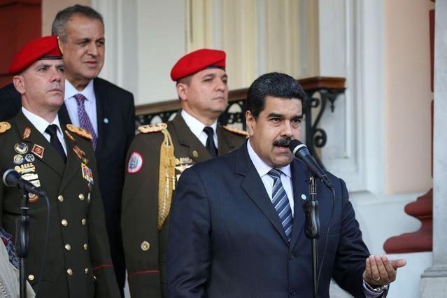 Tổng thống Venezuela Nicolas Maduro. Ảnh: Yahoo