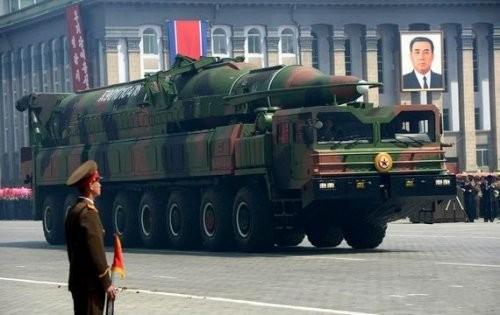 Tên lửa đạn đạo tầm xa của Triều Tiên (ảnh tư liệu)
