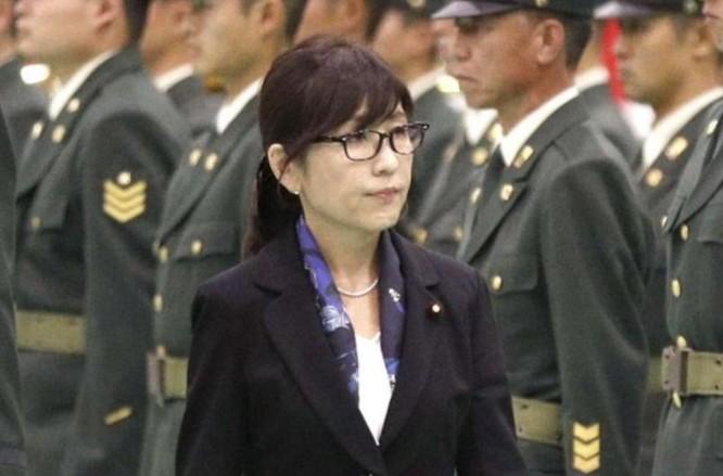 Bà Tomomi Inada, Bộ trưởng Quốc phòng Nhật Bản. Ảnh: South China Morning Post