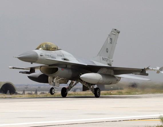 Máy bay chiến đấu F-16 của Không quân Pakistan, mua của Mỹ (ảnh tư liệu)