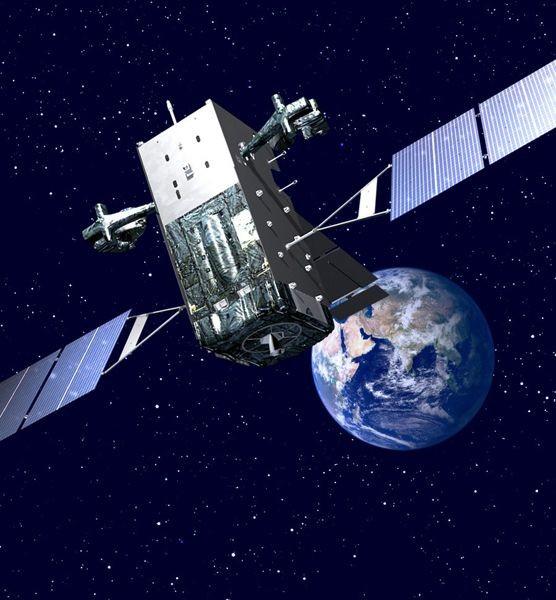Vệ tinh do thám hồng ngoại GEO-1 Mỹ (ảnh tư liệu)