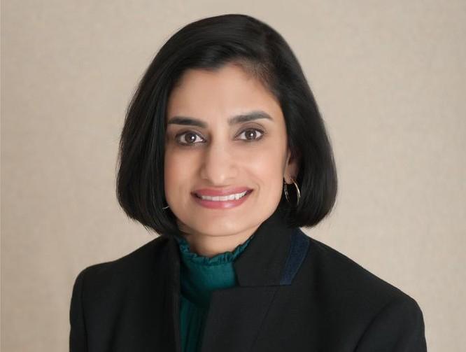 Bà Seema Verma được Tổng thống đắc cử Mỹ Donald Trump chọn làm người đứng đầu Trung tâm Dịch vụ Medicare & Medicaid. Ảnh: India Tribune